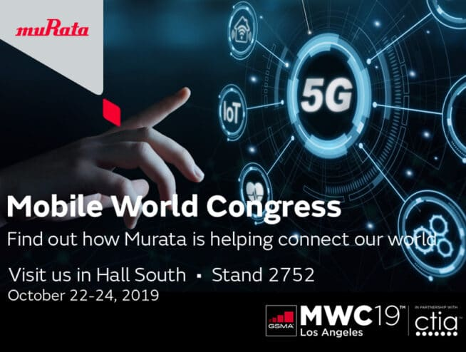 pSemi and Murata Demo mmWave 5G Module at MWC Los Angeles