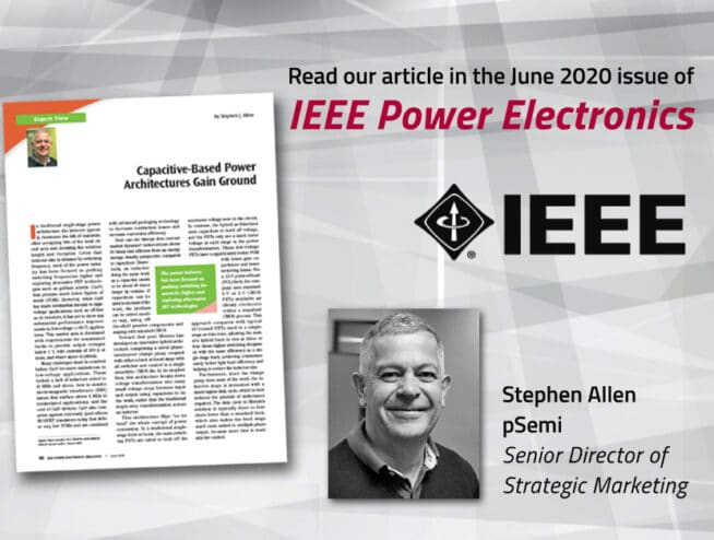 Capacitive-Based Power Architectures Gain Ground - The June issue of IEEE